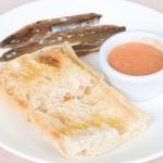 Pan Cristal con Tomate Rallado y Anchoas